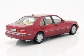 model cars Mercedes-Benz S 500 W 140 1:18