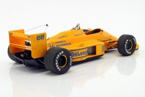 model cars Lotus 99T Ayrton Senna 1987 1:18