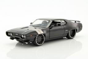 modelcars Plymouth Dom #FastFurious8 1:24