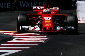 Sebastian Vettel #MonacoGP 2017