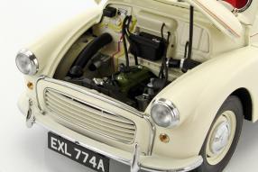 model cars Morris Minor 1000 scale 1:18