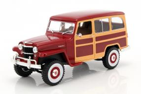 Willys Jeep Station Wagon 1:18