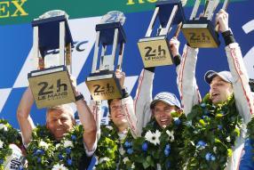 Porsche gewinnt Le Mans 2017