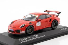 Porsche 911 GT3 RS Sports Cup Deutschland 1:43