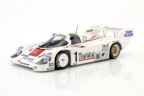 Porsche 956 K Bob Wollek 1:18