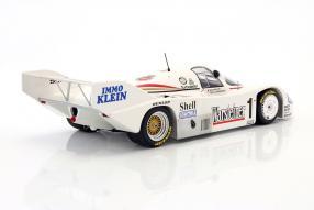 Modellautos Porsche 956 K Bob Wollek 1:18