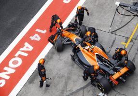 McLaren MCL32 ChineseGP 2017