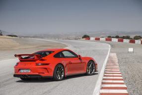 Porsche 911 GT3 2017 Saphirblau