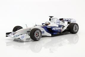 BMW Sauber F1 Vettel 1:18 Minichamps