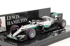 Lewis Hamilton W07 F1 1:43