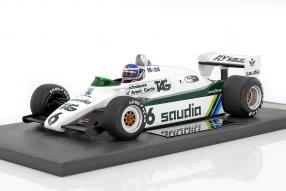 WilliamsF1 FW08 Keke Rosberg 1:18