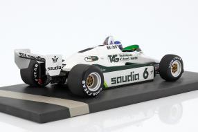 Modelle WilliamsF1 FW08 Keke Rosberg 1:18