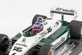 Modelcars WilliamsF1 FW08 Keke Rosberg 1:18