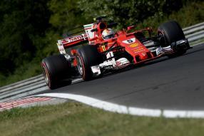 Ferrari SF70-H Test Budapest 2017
