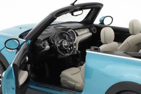 Modellautos Mini Cooper S Cabriolet 2016 1:18