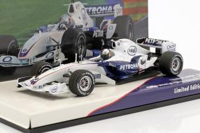 BMW Sauber F1 Vettel 1:43 Minichamps