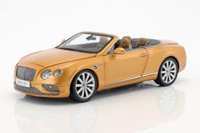 Bentley Continental Convertible 2016 1:18