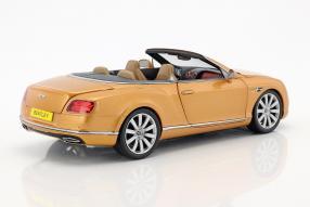 Modelcars Bentley Continental Convertible 2016 1:18