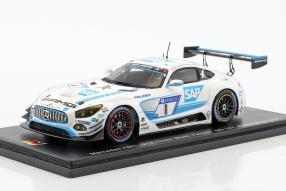 Mercedes-AMG GT3 Spark 1:43 24h Nurburgring 2017