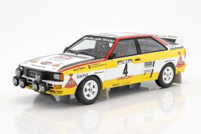 Audi quattro 1:18 Walter Röhrl 1984