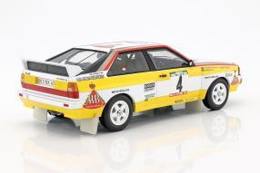 Modellautos Audi quattro 1:18 Walter Röhrl 1984