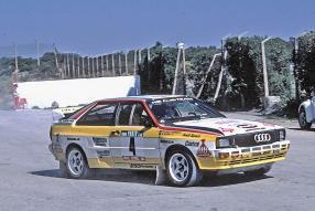 Audi quattro Walter Röhrl 1984
