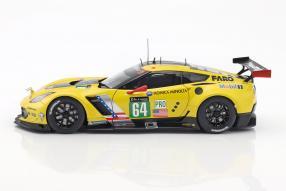 Modellautos Chevrolet Corvette C7R Le Mans 2016 1:18