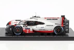 Modelcars Porsche 919 hybrid 1:43 Le Mans 2017