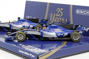 Modellautos Sauber F1 2017 1:43