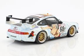 Modellautos Porsche 911 GT2 1998 1:18 Naked Lady