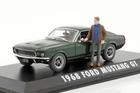 Modelcars Ford Mustang GT Bullitt 1968 1:43