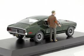Greenlight Ford Mustang GT Bullitt 1968 1:43
