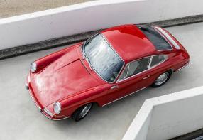Porsche 901 No. 57 frisch restauriert