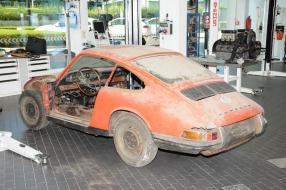 Porsche 901 unrestauiert