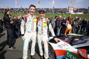Timo Bernhard und Kevin Estre am ck-modelcars 911