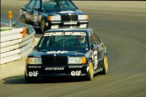 Mercedes-Benz AMG 190 E DTM 1988 am Hungaroring