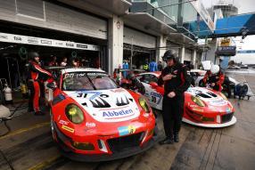 Frikadelli Racing Team Porsche 911 GT3 R (31), Porsche 911 GT3 R (30), Nürburgring 2018