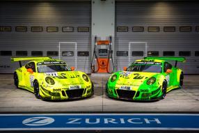 Manthey Racing, Porsche 911 GT3 R, Nürburgring 2018