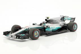 Valtteri Bottas Modellauto Mercedes-AMG F1 2017 1:18