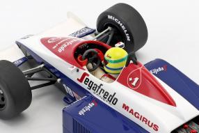 Toleman Hart TG184 1:18 #F1 1984
