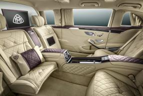 Interieur Mercedes-Maybach S 600 Pullman