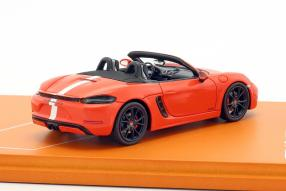 Set Porsche 718  Boxster GTS Tennis Grand Prix 2018 1:43