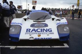 29.05.1983 1000km Nürburgring; Nr. 2: Stefan Bellof und Derek Bell auf einem 956 KH