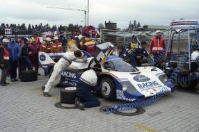 #OTD  29.05.1983 1000km Nürburgring; Nr. 2: Stefan Bellof und Derek Bell auf einem 956 KH