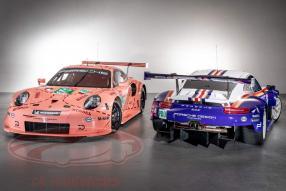 Comeback Rothmans und Pink Pig 911 RSR