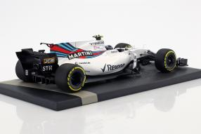 modelcars Williams F1 Lance Stroll 2017 1:18