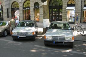 Mercedes-Benz W 201 Classic Days Berlin