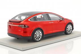 modelcars Tesla Model X 1:18