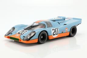 Modellautos Porsche 917 #LEMANS24 1970 1:12
