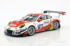 Frikadelli Racing Team Porsche 911 GT3 R (30) Nürburgring 2017 1:18